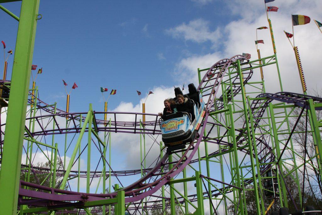 duinen zathe, pretpark, london city coaster, achtbaan
