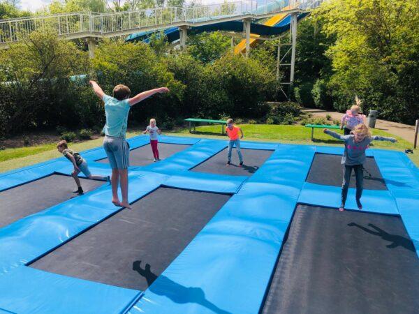 trampoline, duinen zathe