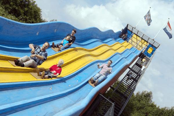 duinen zathe, pretpark, attractiepark, reuzenglijbaan