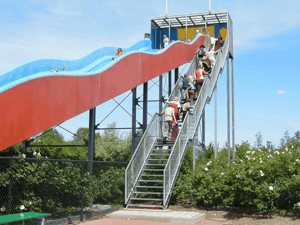 duinen zathe, attractiepark, pretpark, reuzenglijbaan